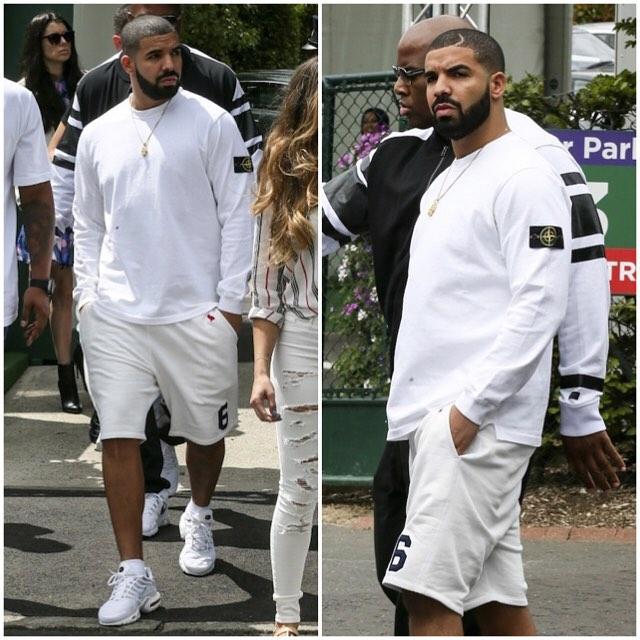 Drake-wears-Stone-Island-Sweatshirt-at-2015-Wimbledon-Championships-11